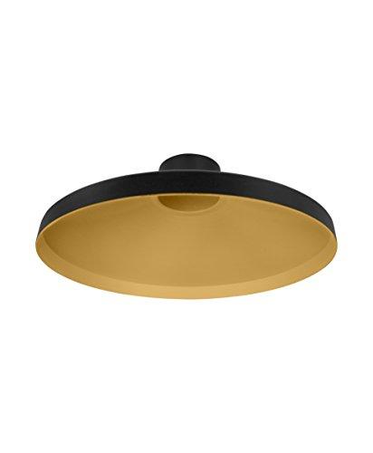 Osram Vintage Edition 1906 Lampenschirm Radar, schwarz und gold, Zur Erweiterung Ihrer Osram Pendulum Leuchte, P20, Aluminiumgehäuse