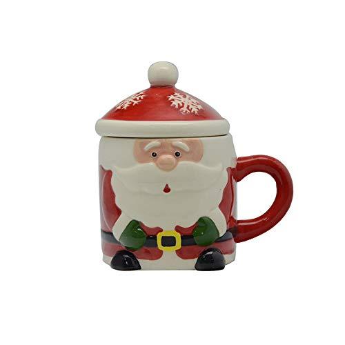 Tazza a Forma di Babbo Natale