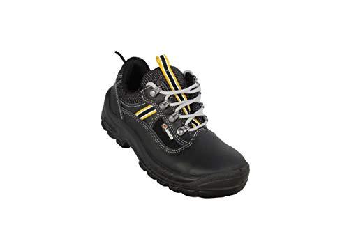 Jallatte Jalsoccer Evol SAS S3 zakelijke schoenen beroepsschoenen plat zwart