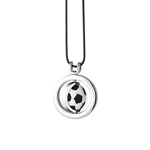 Auto Anhänger Fußball Basketball Volleyball Ornamente Charme Rückspiegel Dekoration Ornamente Autozubehör-Fußball