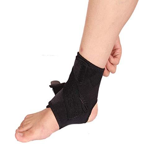 Equipo de protección de tobillo, Ajustable proteger los calcetines, Esguince de ligamentos de protección, Deportes al aire libre, Adecuado para yoga, baloncesto, fútbol, bádminton. ( Size : One size )