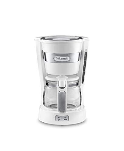 デロンギ(DeLonghi) ドリップコーヒーメーカー ホワイト アクティブシリーズ ICM14011J-W