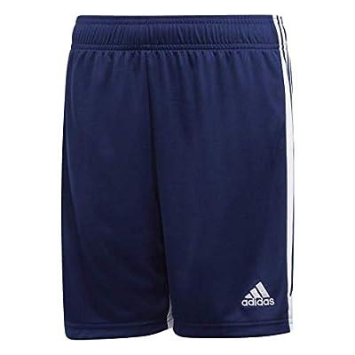 adidas Boys' Tastigo 19 Shorts, Dark Blue/White, Medium by adidas Youth Inline Apparel Child Code (Sports Apparel)