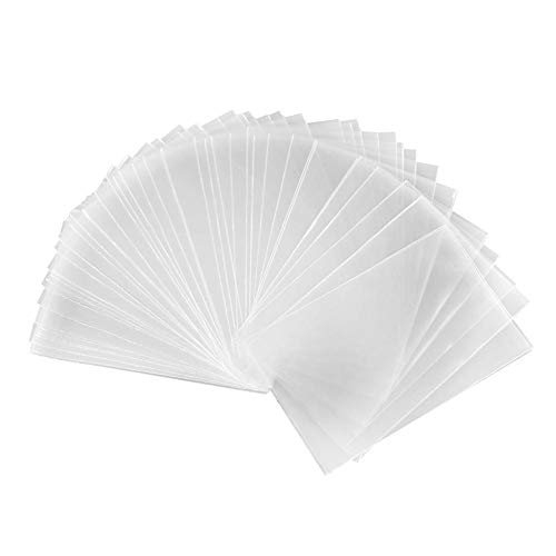 Fundas para Cartas Magic - 100 Pcs Fundas para Cartas De Juegos, Protector De Cartas De Póquer, Juego De Tablero, Plástico, Transparente