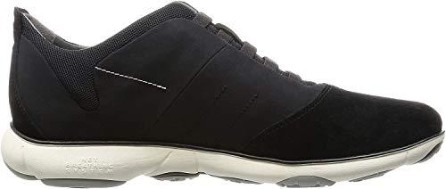 Geox U Nebula B, Zapatillas de Deporte para Hombre, Negro (Black), 42 EU