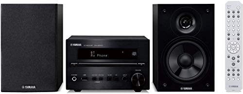 Yamaha MCR-B370D - Microcadena (Microcadena de música para Uso doméstico, Negro, 1 Discos, Bandeja, 30 W, De 2 vías)