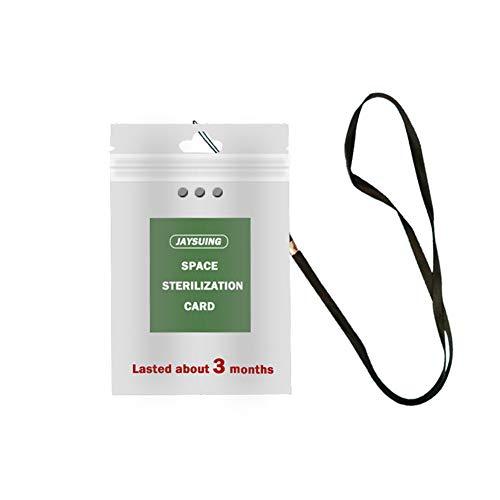 Luchtsterilisatie Kaart, Luchtdesinfectie Kaart Lanyard Sterilisatie Beschermingskaart Hals Lanyard voor Thuis, School, Bedrijf, Ziekenhuis
