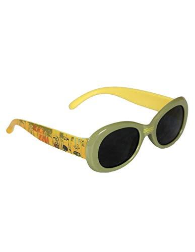 les minions Jungen Sonnenbrille Gr. onesize, grün / gelb