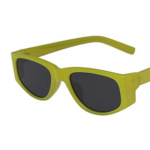 Gafas De Sol Gafas De Sol Clásicas De Ojo De Gato Vintage para Mujer, Diseño Cuadrado, Gafas De Sol De Ojo De Gato para Mujer, Gafas De Sol Al Aire Libre Uv400 C1Green