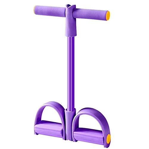 Sunshine smile Cuerda de tensión multifunción,Cuerda para ejercitar piernas,ejercitador de Pedal de...