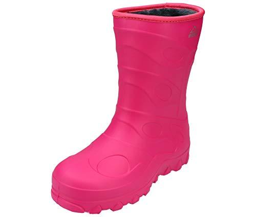 McKINLEY Unisex-Kinder Rock Gummistiefel, Pink (Pink Dark 410), 26 EU