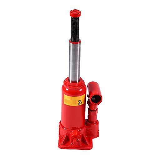 Hydraulische krik, hydraulische flessenkrik 2T 3T 5T 6T 8T stempelkrik, compacte krik, voor auto/van/boot/vrachtwagen 2T