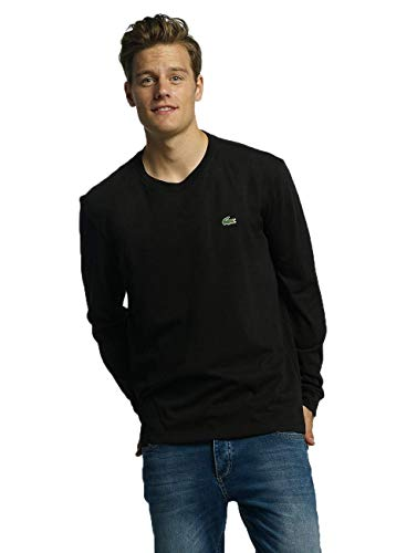 Lacoste Sport Herren TH0123 T-Shirt, Noir, XL