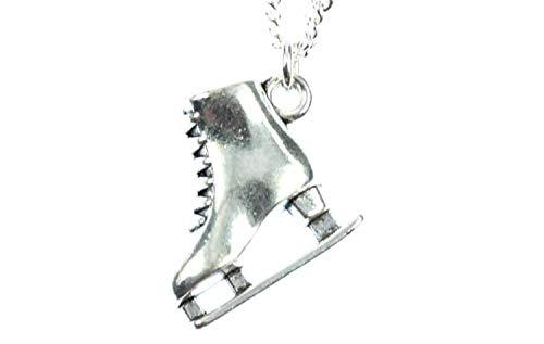 Miniblings Schlittschuh Kette 45cm Eislaufen Skaten Eisprinzessin Eiskunstlauf s