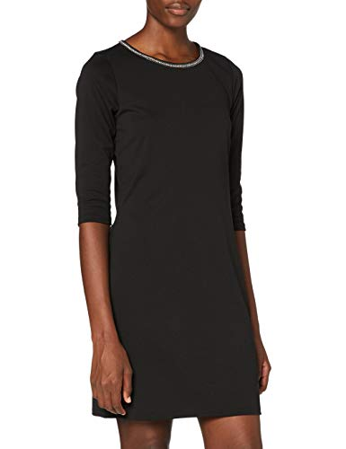 ONLY Damen ONLBRILLIANT 3/4 Chain Dress JRS Kleid, Black, M