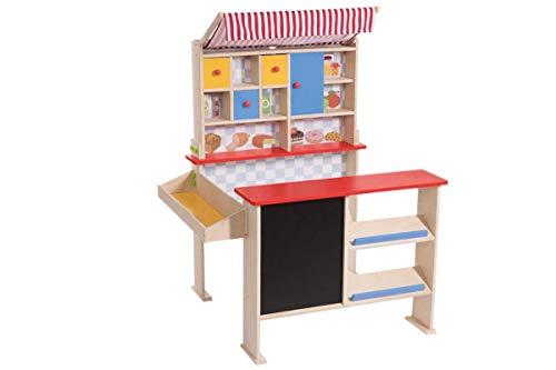 Playtive Junior Kaufladen Supermarkt mit Tafel