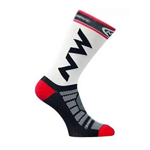 ZYING 10 Pares Calcetines de Ciclismo para Correr al Aire Libre Maratón Transpirable Hombre Mujer Calcetines Deportivos Escalada Camping Fútbol Calcetines de Baloncesto Resbalón (Color : Black)