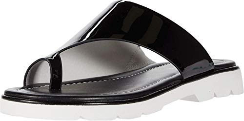 Donald J Pliner Women's Slide Sandal, Black, 8.5