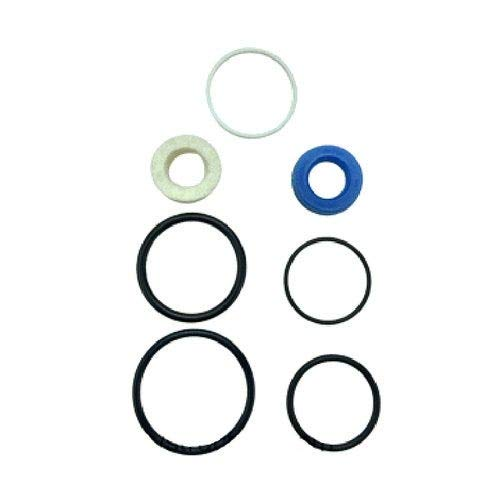 Ag Parts Parts A.S.A.P. Power Steering Cylinder Seal Kit Compatible with Massey Ferguson 372 4315 360 340 240 230 355 253 30H 263 30E 362 350 4215 4220 20F 243  Landini 5830 6030 - All States 3404477M91
