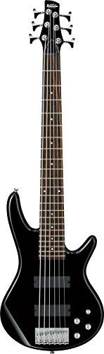 Ibanez 6 String Bass Guitar, Right, Black (GSR206BK)
