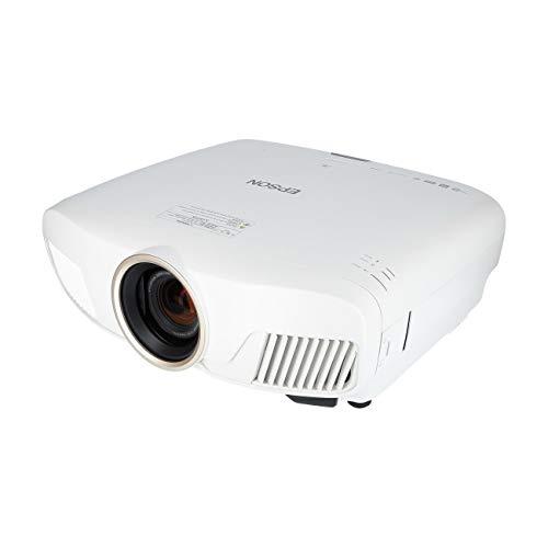 Epson EH-TW7400 4K Enhancement UHD 3LCD videoproiettore (3.840 x 2160p, HDR, 3D, 2.400 lumen, contrasto 200.000:1, Motori. Lens-Shift) Bianco