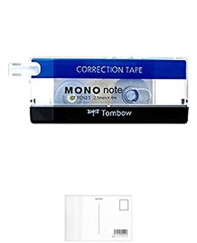 トンボ鉛筆 修正テープ モノノート スタンダード×5 + 画材屋ドットコム ポストカードA