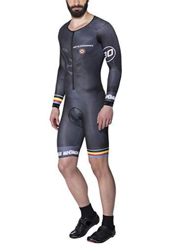 Bioracer Van Vlaanderen Speedsuit Timetrial LS Black Größe M 2020 Overall