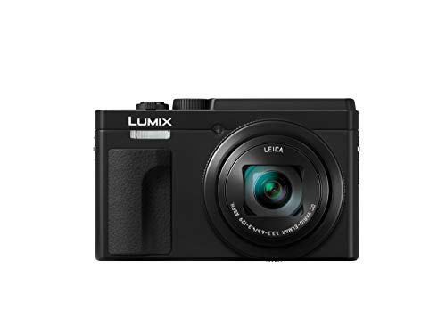 Panasonic Lumix TZ95 - Fotocamera digitale 21.1 MP, 240 Fps, Zoom 30x, 4 K, Wi-Fi, Bluetooth