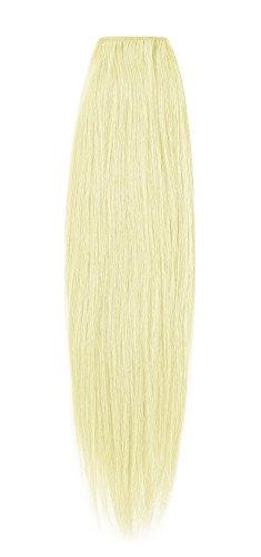 American Dream original de qualité 100% cheveux humains 50,8 cm soyeuse droite trame Couleur 613 – Blond Crème