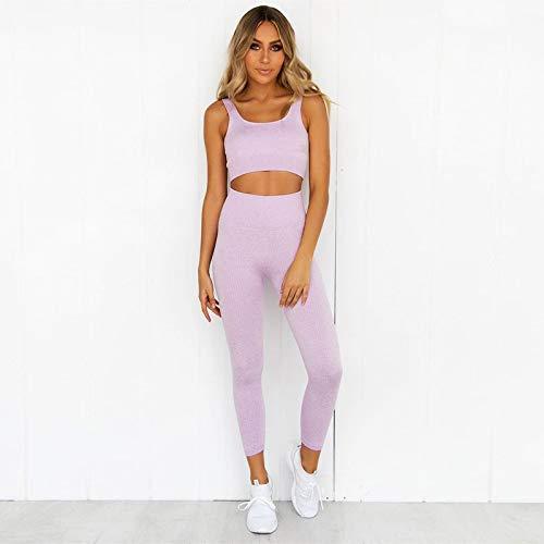 2 delige set Kleren van de Training for vrouwen sportbeha en Leggings Set Sportkleding for Vrouwen Gym Kleding Athletic Yoga Set