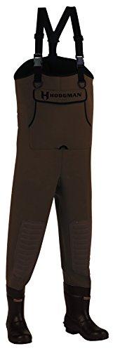 Hodgman Caster Stiefelfuß aus Neopren, braun, Größe 47