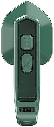 Vaporizadores de Ropa de Viaje Micro Plancha de Vapor Mini Vaporizador de Ropa de Mano Portátil de Viaje Vaporizador Ligero Máquina de Planchar Colgante para Cualquier Prenda de Vestir (Verde)