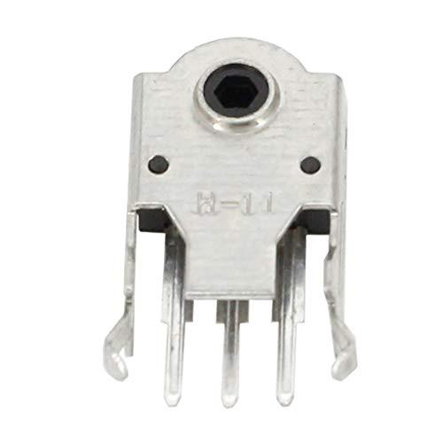 JSJJATQ Interruptores 10 unids Mouse Encoder Rueda Decoder Securador de Ratón Conector Rodillo de reparación Hot 5mm 7mm 9mm 11mm 13mm (Color : 11MM)