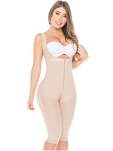 Fajas Salome Abnehmen Body Shaper für Damen X-Groß Beige