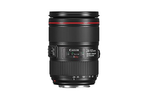 Canon EF 24-105 mm f/4L IS II USM Lente – Negro (Reacondicionado)