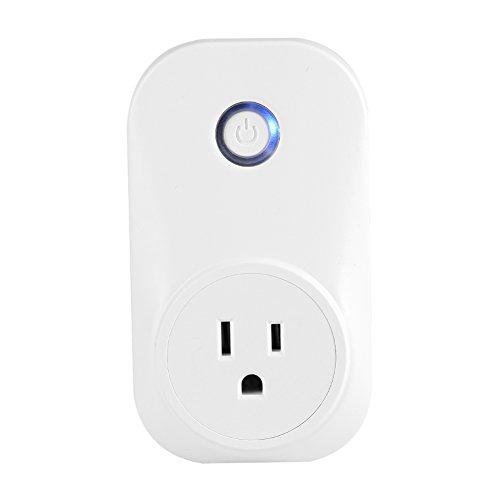 Wifi Smart Plug afstandsbediening stekker timer wireless outlet schakelaar wifi stopcontact timer schakelaar compatibel met Alexa & Google Home