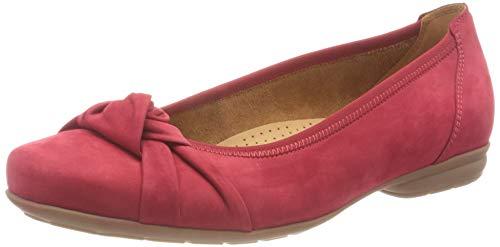 Gabor Shoes Ballerina, Ballerines Femme, Rouge (Rubin 48), 35.5 EU