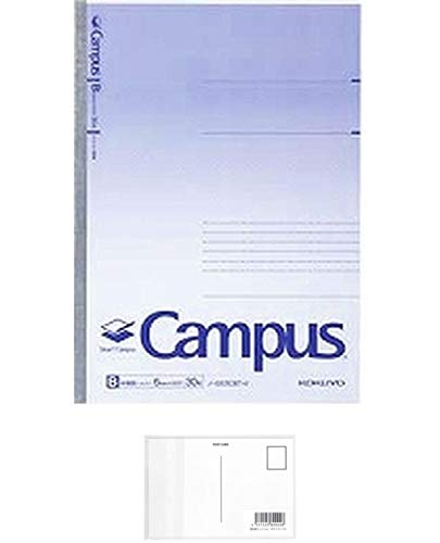 スマートキャンパス B罫(ドット入り) セミB5(6号) 罫幅6mm 30枚 品番:ノ-GS3CBT-V 注文番号:64274492 メーカー:コクヨ + 画材屋ドットコム ポストカードA