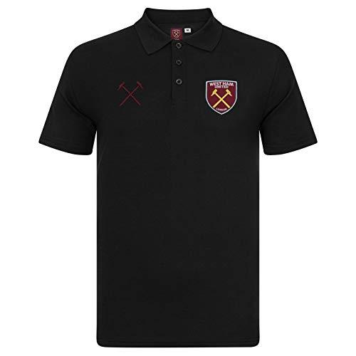 West Ham United FC Polo Oficial para Hombre - con el Escudo del Club