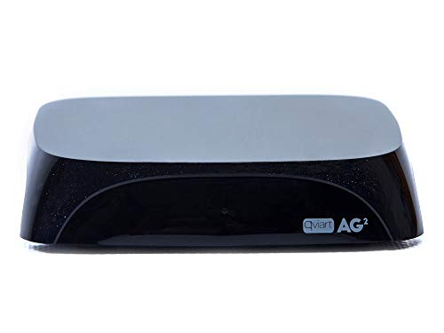 Qviart AG2 Receptor Streaming 4K UHD Ott Android 7 LAN y WiFi Dual Band, 2 GB DDR3 Ram, 16GB Flash, Bluetooth 4.1, QTV Online TV, VOD y Media Player, Color Negro