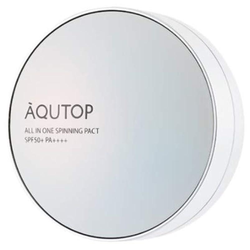 超音速占める約[AQUTOP] アクタップオールインワンスピニングファクト SPF 50+ PA ++++ / AQUTOP ALL IN ONE SPINNING PACT [並行輸入品] (21号 ライトベージュ)