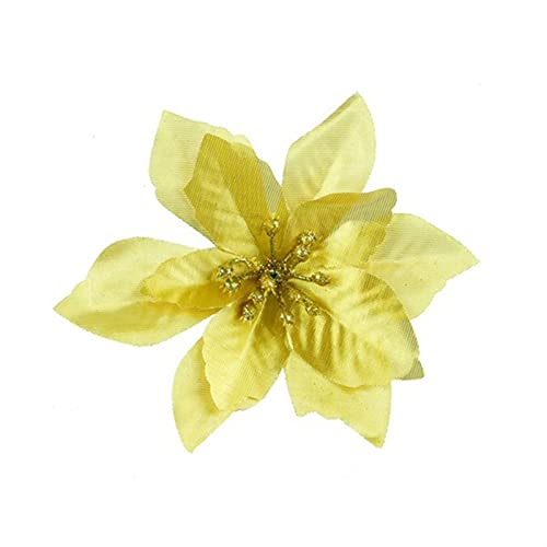 Eternal flower Artificial Flower, Fake Flowers, Plastic Flower, Christmas Tree Party Home Wedding Hotel Table Decoration Flowers (Color : A8)