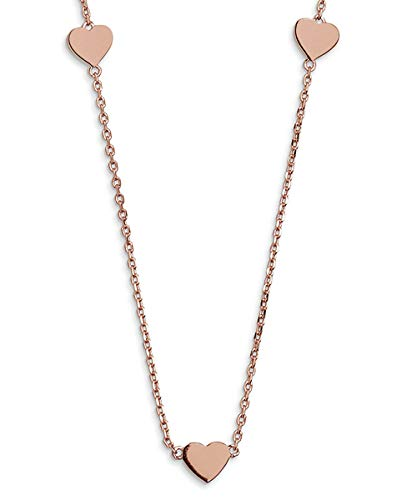 Xenox dames zilveren ketting Poppy Poems Rosé XS3802R