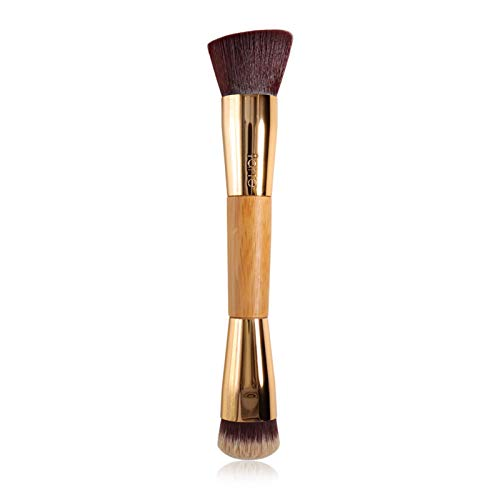 LIANMIBA Kosmetika Make-up-Bürste abgewinkelter Konturbürste Präzision BB Creme flüssige Fundament Make-up-Bürstengold