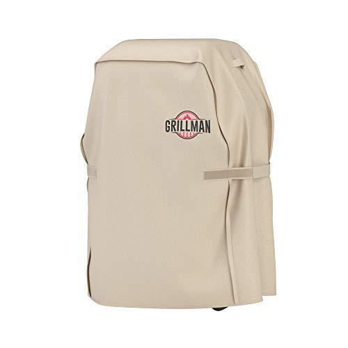 Grillman Funda Impermeable para Barbacoa, Color Canela Funda Protectora para Barbacoa Funda Impermeable para Barbacoa (30 Inch / 76 cm, Canela)