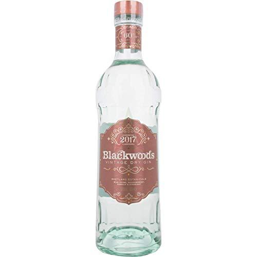 Blackwoods Vintage Dry Gin Limited Edition OVERPROOF 2017 60,00% 0,70 Liter