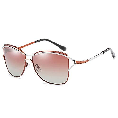 Zhhhk Gafas De Sol Polarizadas UV400 for Hombres/Mujeres Gafas De Sol for Conducir Deportes Al Aire Libre Conducción Espejos De Playa Marcos De Metal Resistente A Los Rayos UV Unisex