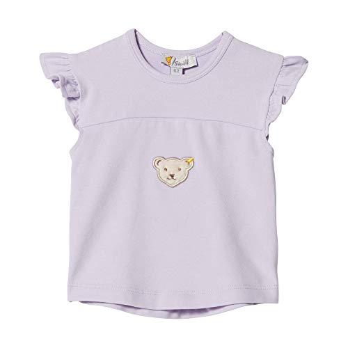 Steiff Mädchen T-Shirt, Violett (Pastel Lilac 7008), 68