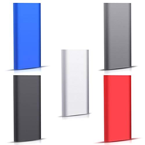 Externe Festplatte 2tb,Type C USB 3.1 Tragbare Festplatte extern für PC, Mac, Desktop, Laptop, MacBook, Chromebook (2tb, Blau)