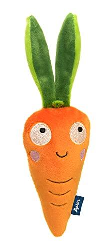 SIGIKID 42608 Greifling Karotte Blue Mädchen und Jungen Babyspielzeug empfohlen ab 3 Monaten orange/grün